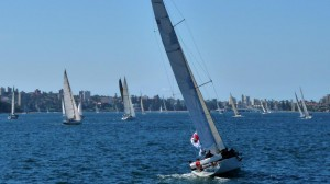 Sailing to Manly, Australia