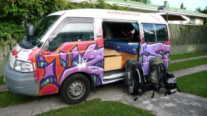 Wicked Campervan in New Zealand