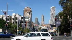 Crossroad in Sydney, Australia