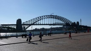 Harbourd Bridge in Sydney, Australia