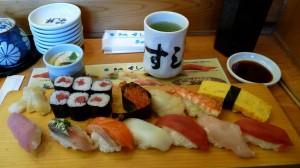 Sushis, Tokyo, Japan