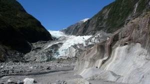 Strange Landscape, Franz Joseph Glacier in New Zealand