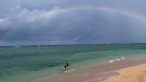 Rainbow, Kinde Island, Nouvelle Calédonie