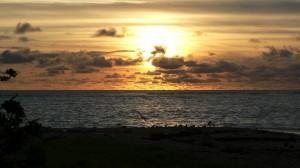 Sunset, Kinde Island, Nouvelle Calédonie