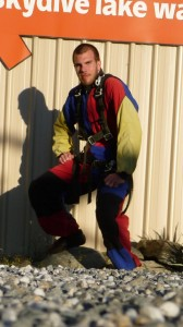 Ready to go, Skydive in New Zealand