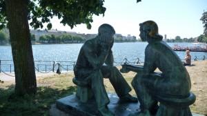 Statues in Cophenhagen