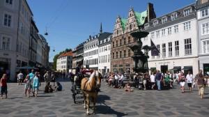 Town Center of Copenhagen