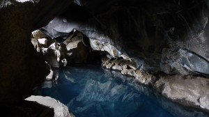 Cave around Hverfjall