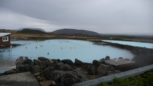 Nature hot bath in Myvatn