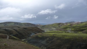 Mountains in Landmannalaugar 2