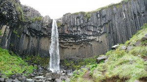 Svartifoss waterfall in Skaftafell