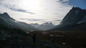 Vast landscape in Greenland 2