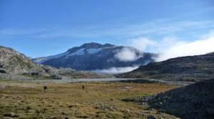 Vast landscape in Greenland