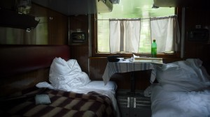 Trans-Siberian compartment