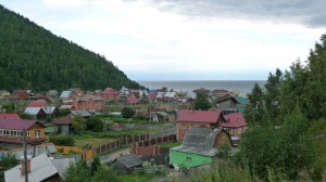 Listvyanka fishing village, Lake Baikal, 1