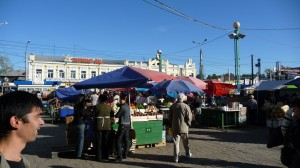 Permanent market in Irkutsk