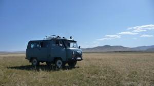 Van to Orkhon Khurkhree