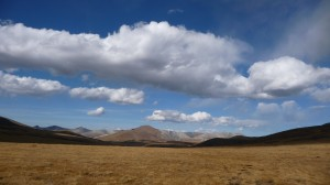 Steppes and clouds, Khovsgol Nuur