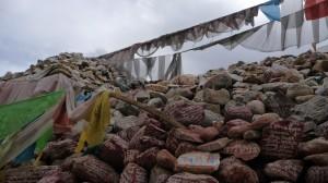 Mani stones in Gyegu
