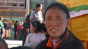 Tibetan face