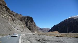 Lhasa to Shigatse road, 2