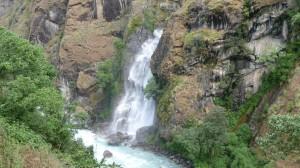 Waterfall, Chyamche, Annapurna, Nepal
