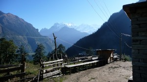 View from Timang, Annapurna, Nepal