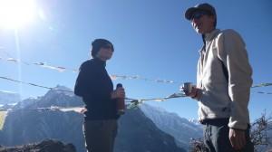 Lysianne & Cyril, Annapurna, Nepal