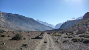 Leaving Manang, Annapurna, Nepal