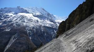 Mountains around Tilicho Base camp 1, Annapurna, Nepal