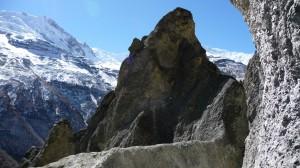 Mountains around Tilicho Base camp 2, Annapurna, Nepal