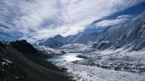 Tilicho Lake from MesoKanto La Pass, Annapurna, Nepal