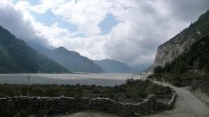 Between Jomson and Ghasa 2, Annapurna, Nepal