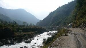 Between Ghasa and Beni 1, Annapurna, Nepal