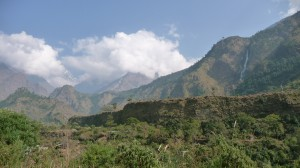 Between Ghasa and Beni 2, Annapurna, Nepal
