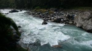 Bhote Kosi river