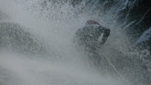 CaYuS fighting the waterfall