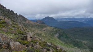 View from Mount Ossa, 2, Overland Track, Tasmania