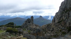 View from Mount Ossa, 1, Overland Track, Tasmania