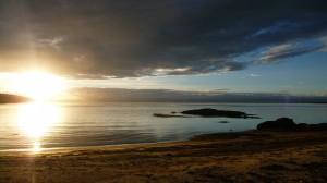 Sunset on the beach, 2, Freycinet National Park, Tasmania