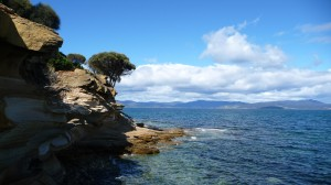 Painted cliff, Maria Island, Tasmania