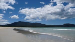 Beach, 1, Maria Island, Tasmania