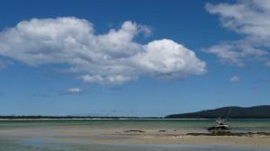Beach, 2, Maria Island, Tasmania