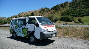 Wicked campervan, New Zealand