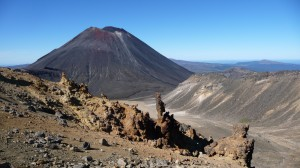 Mount Ngauruhoe 2, Tongariro Alpine Crossing, New Zealand