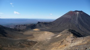 View from Mount Tongariro, Tongariro Alpine Crossing, New Zealand