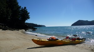 Kayak in Abel Tasman National Park, New Zealand