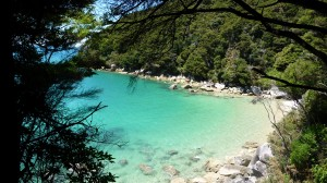Golden beach, 1, Abel Tasman National Park, New Zealand