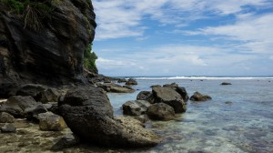 Ocean and Rocks, Namua Island, Samoa