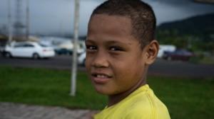 Samoan people 01, Apia, Samoa